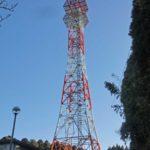 高さ100mの通信鉄塔の解体撤去