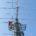 台風被害のクランクアップタワーの解体撤去工事